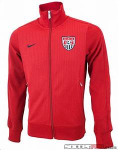Nike USA Authentic N98 Track Jacket - Varsity Red with ...