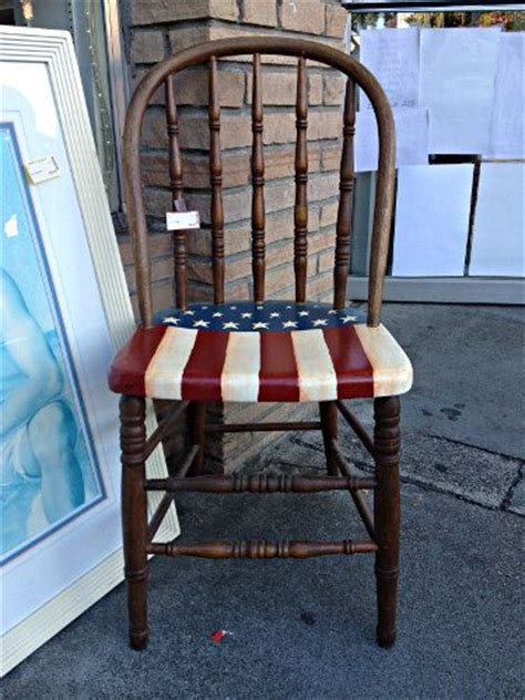 chairs american flag and walnut creek on