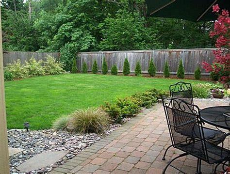 simple landscaping ideas  extra large backyards big