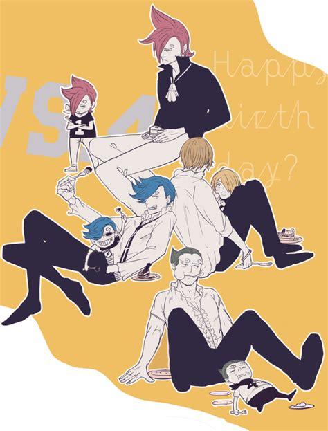 vinsmoke niji  piece zerochan anime image board