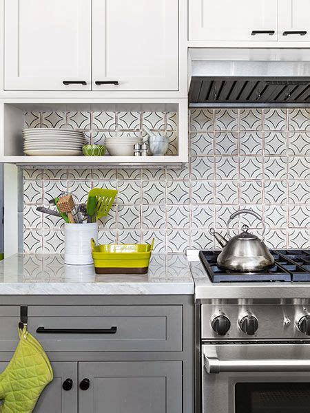 kitchen cabinets designs pictures family kitchen with a view painted tiles white subway 6014