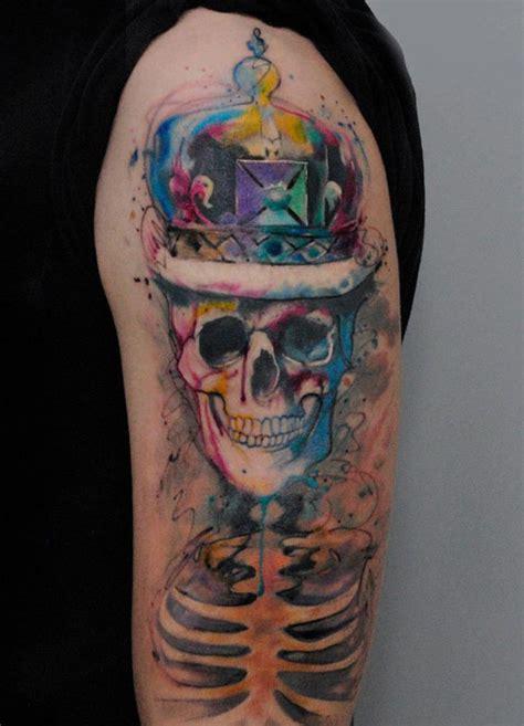 ideias de tatuagens em aquarela
