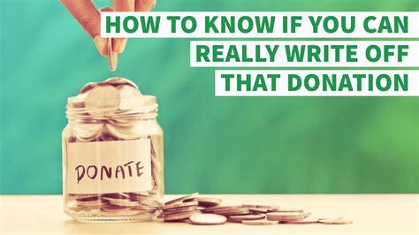 write   donation