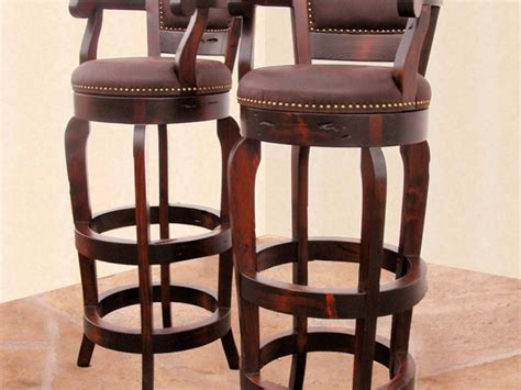 Cushioned Bar Stools With Arms by Padded Bar Stools With Backs And Arms Home Ideas