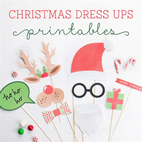 tinyme christmas dress ups  printables tinyme blog