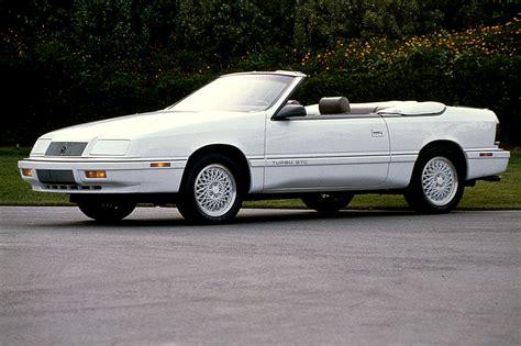 93 Chrysler Lebaron by 1990 95 Chrysler Lebaron Coupe Convertible Consumer