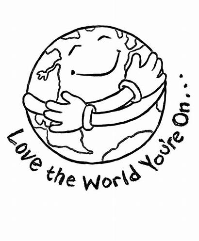Earth Colouring Pages Coloring Happy Preschool Printable