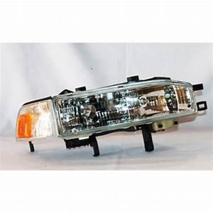 Tyc Headlight Assembly 1990-1991 Honda Accord 2 2l-20-1714-00
