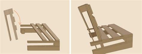 comment fabriquer un fauteuil en palette ooreka