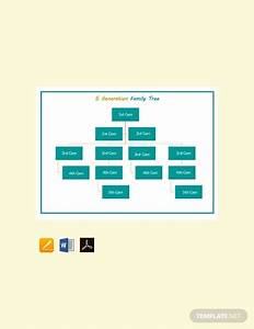 7  Four Generation Family Tree Templates