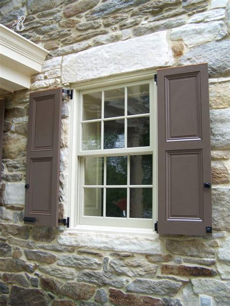 window shutter designs for various facade view amaza design