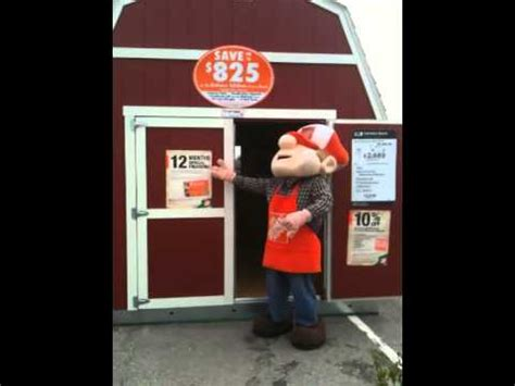 Tuff Shed Home Depot Tb600 Homer Approved  Youtube