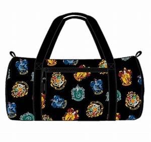 Hogwarts harry potter packable duffle bag gym luggage for Hogwarts letter bag