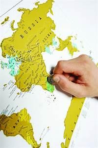 Carte Du Monde à Gratter Maison Du Monde : carte du monde gratter science nature le dindon ~ Teatrodelosmanantiales.com Idées de Décoration