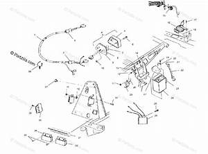 Polaris Atv 2000 Oem Parts Diagram For Electrical  Taillight A00cd32aa