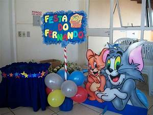 Tom & Jerry Birthday Party Ideas | Photo 1 of 13 | Catch ...