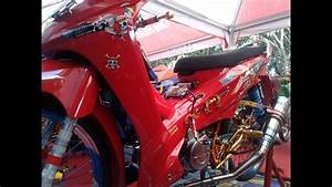 Modifikasi Honda Absolute Revo Drag Style Thailook Full