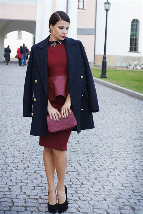 2015 Stylish Winter Outfit Ideas with Dresses   Styles Weekly