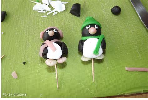 comment utiliser la pate a sucre flo en cuisine tutoriel 1 pingouin en p 226 te 224 sucre et p 226 te d amande