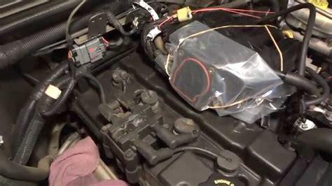 Jeep Wrangler Spark Plug Change 24 Four Cylinder 2005