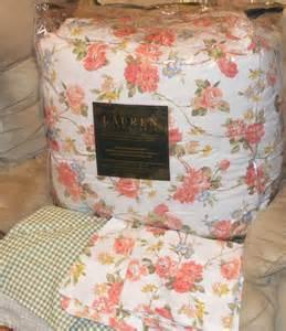 ralph lauren daniella floral king or queen comforter set