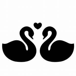 Collection of swan icons free download