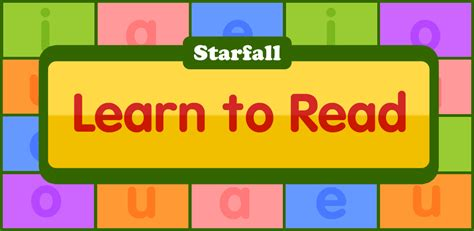 Amazoncom Starfall Learn To Read Appstore For Android