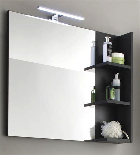 badspiegel mit regal badm 246 bel wei 223 grau g 252 nstig kaufen
