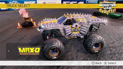 monster jam truck games monster jam crush it official video game trailer youtube