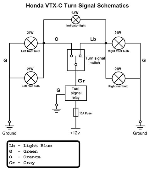 wiring diagram for motorcycle turn signals motorcycle turn signal wiring diagram tamahuproject org at