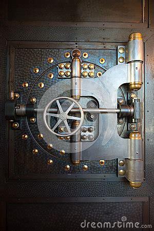 coffre fort de porte de chambre forte de banque de vintage photo stock image 50233678