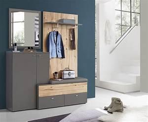Garderobe Baumstamm Holz : garderobe grau eiche forte m bel como holz modern kaufen bei woody m bel gmbh co kg ~ Sanjose-hotels-ca.com Haus und Dekorationen