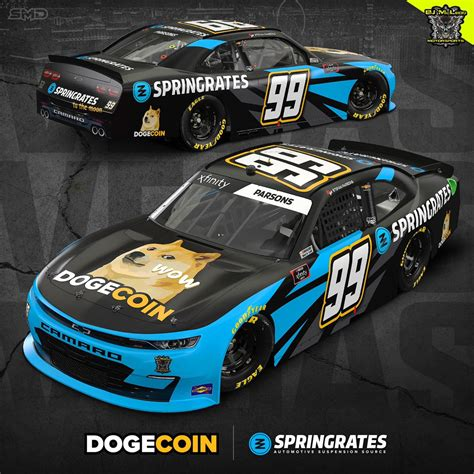 The Dogecoin Car is coming back to NASCAR on Saturday ...