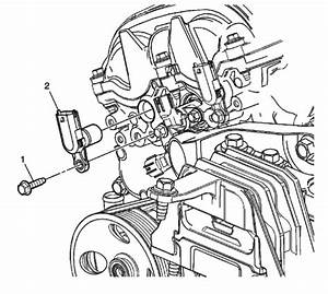 Where Is The Camshaft Position Actuator Solenoid Located On A 2010chevy Equinox
