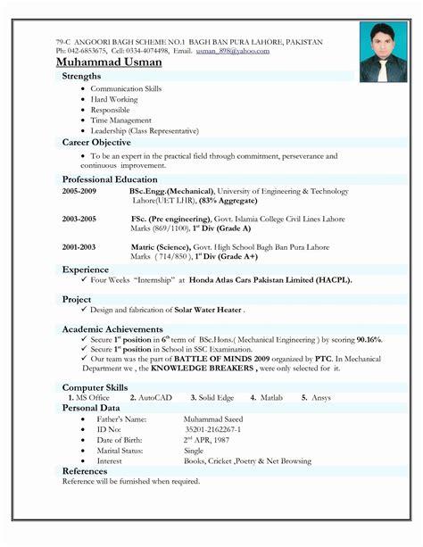 resume format   india resume templates resume