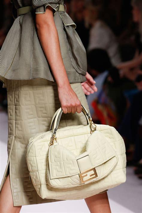 fendi springsummer  runway bag collection spotted fashion