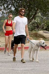 MILEY CYRUS and Liam Hemsworth Out Hiking in Los Angeles ...