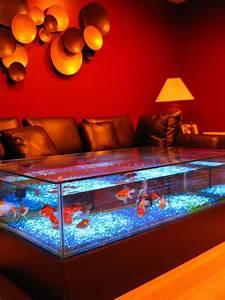 Aquarium Coffee Table For Sale