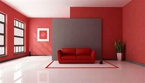 Rote Wand 50 Ideen Mit Wandfarbe Rot