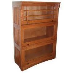 antique mission arts crafts signed lifetime oak bookcase