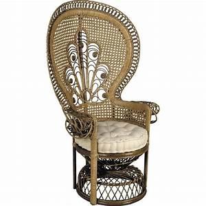 Siege En Rotin : fauteuil emmanuelle en rotin ~ Teatrodelosmanantiales.com Idées de Décoration