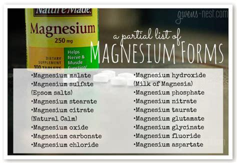 magnesium   gwens nest