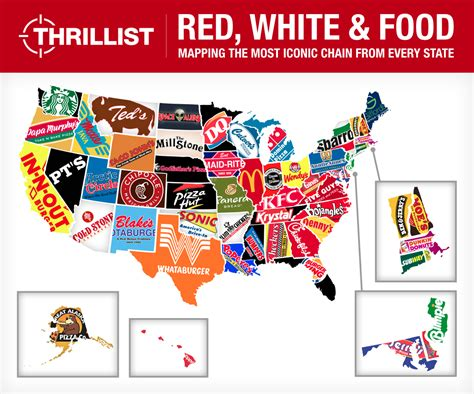 Total Frat Move  The Definitive Map Of Which Fast Food