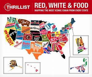 Total Frat Move | The Definitive Map Of Which Fast Food ...