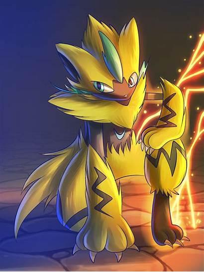 Zeraora Deviantart Pokemon Legendary Fusion Marshadow Fan