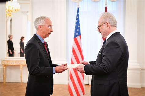 05.11.2019. Valsts prezidents Egils Levits akreditē V. E ...