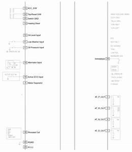 Kia Sorento  Instrument Cluster Circuit Diagram