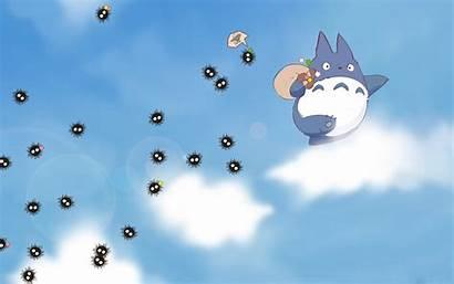 Totoro Backgrounds Wallpapers Anime Cartoon Pixelstalk