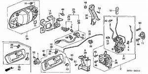 1999 Honda Accord Door Lock Wire Diagram  Honda  Auto