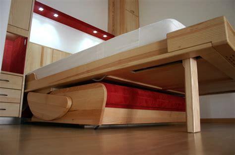 canapé lit escamotable paul blanc menuiserie nos réalisations de meubles chambre